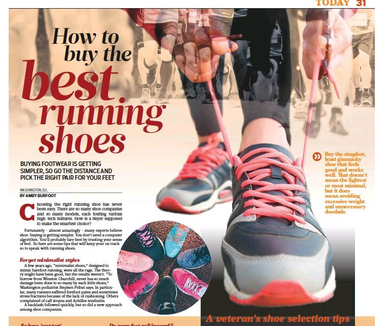 552ace547043 PressReader - Gulf News  2018-10-30 - How to buy the best running shoes