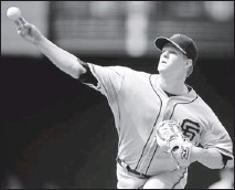 ?? By Mark J. Rebilas, US Presswire ?? Giant leap of faith: Pitcher Matt Cain received a $127.5 million contract extension despite a 69-73 career record.