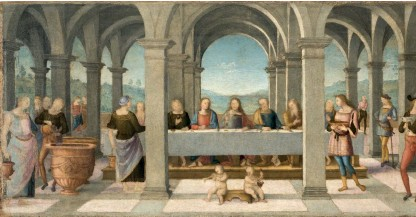 ??  ?? AN EXHIBITION OF THE WORK OF RAPHAEL'S MASTER THE DUCAL PALACE IN URBINO IS HOSTING A VAST EXHIBITION OF THE WORKS OF PERUGINO, WHO HELPED TO DECORATE THE SISTINE CHAPEL