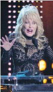 ??  ?? Dolly Parton stars in Dolly Parton's Christmas on the Square.