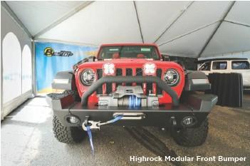??  ?? Highrock Modular Front Bumper