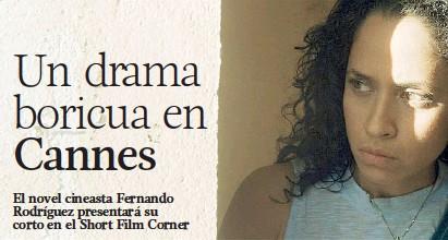 ??  ?? Aris Mejías protagoniza el corto que ya se ha presentado en España, Hong Kong, Brasil y Estados Unidos.