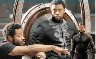 ?? MARVEL STUDIOS ?? CHADWICK Boseman's work as T'Challa/Black Panther on Hollywood blockbuster put African aesthetics, language and accents front and centre, a fight worth having, says director Ryan Coogler. Boseman died last Friday, aged 43, of cancer.   Black Panther