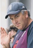 ??  ?? England's head coach Chris Silverwood.
