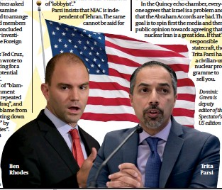 ?? PHOTOS: GETTY IMAGES ?? Ben Rhodes