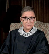 ??  ?? Ruth Bader Ginsburg