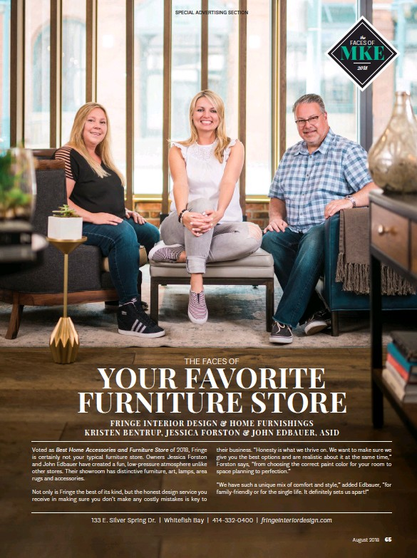 Pressreader Milwaukee Magazine 2018 08 01 The Faces Of Your Favorite Furniture Store