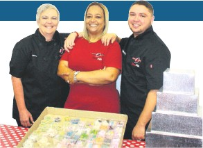 ??  ?? Azaan Scheepers, Judy Motala and Rudolf Wilpert will be presenting the baking school from next month
