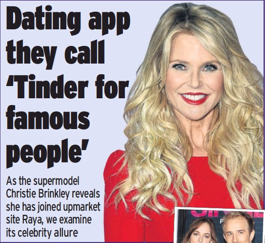 Celebrity on dating site