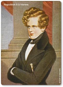 ??  ?? Napoléon II à Vienne.