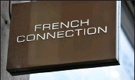 ??  ?? Shares in French Connection fell by 2.2p to 24.6p