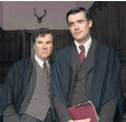 ??  ?? Douglas Hodge and Jack Whitehall in the BBC's new adaptation of Decline and Fall