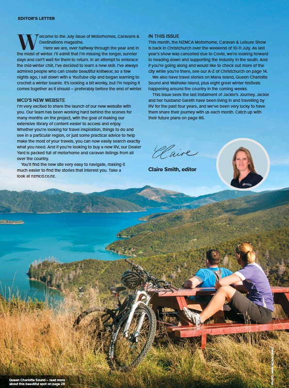 ??  ?? Queen Charlotte Sound – read more about this beautiful spot on page 28