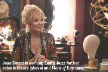 ??  ?? Jean Smart is earning Emmy buzz for her roles in Hacks (above) and Mare of Easttown