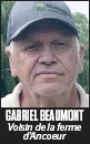 ??  ?? GABRIEL BEAUMONT Voisin de la ferme d'Ancoeur