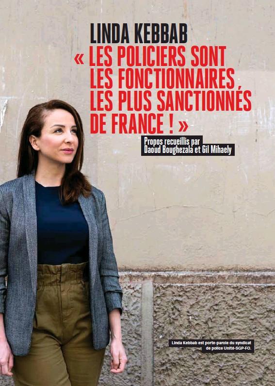 Linda Kebbab « Les policiers sont les fonctionnaires les plus sanctionnés  de France ! » - PressReader