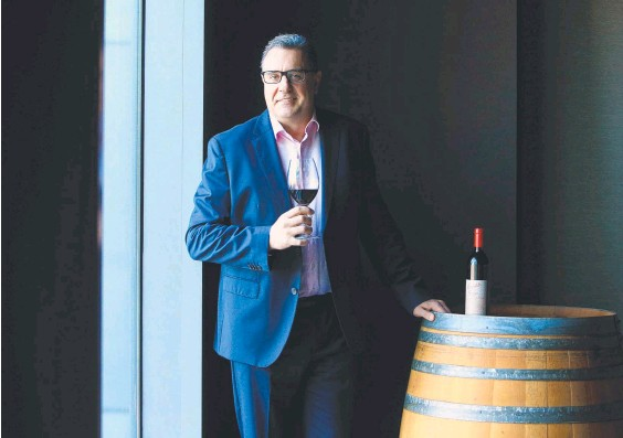 ??  ?? Treasury Wine Estates, under the stewardship of CEO Tim Ford, is targeting net zero emissions by 2030. Picture: Aaron Francis/The Australian