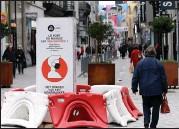 ??  ?? New coronavirus restrictions in Brussels