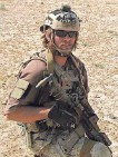 ?? U.S. NAVY ?? Edward Byers took part in a mission to rescue an American from the Taliban.