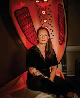 ?? FRÉTTABLAЭIÐ/VALLI ?? Sandra Lárusdóttir er eigandi Heilsu og útlits.