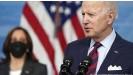 ??  ?? US-Präsident Joe Biden (links seine Vize Kamala Harris) befkräftigte nochmals, er unterstütze eine Zwei-Staaten-Lösung