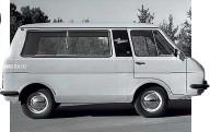 ??  ?? Укороченный электромобиль РАФ-2204.