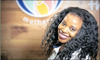 ??  ?? Irene Nkosi has been included in the 25 Women Changing the World list.