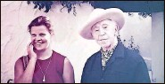 ??  ?? Mrs. Kollock and her family lived in Spain while she performed in Europe. There, she met Arthur Rubinstein, right, who helped her career in the United States.