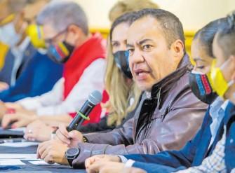 ?? / ADID JIMÉNEZ ?? El excandidato Carlos Herrera hizo un llamado a los magistrados electorales para no dejarse amedrentar