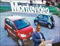 ??  ?? VOLSWAGEN. Eligió a Uruguay para hacer test de autos eléctricos.