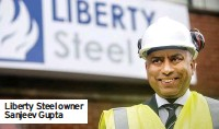 ??  ?? Liberty Steel owner Sanjeev Gupta