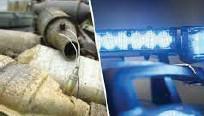 ?? FOTO: LPO SOLLENTUNA ?? Nu varnar polisen för ligor som specialiserar sig på att stjäla bildelar.