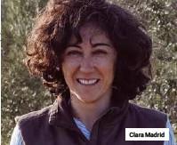??  ?? Clara Madrid