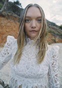 ??  ?? Gemma Ward in 'Tomorrowland', from page 238.