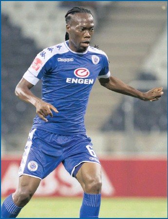 ??  ?? For Reneilwe Letsholonyane of SuperSport United age is but a number.