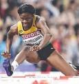 ??  ?? UNHERALDED: Gold medallist Danielle Williams.