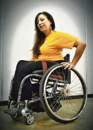 ?? John F. Hartman ?? Nondisabled people feeling the blues of social distancing can lean on and learn from those with disabilities, Maria R. Palacios says.