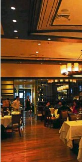 ?? —PHOTOS BY JILL TANRADOVAN ?? Dining area