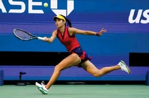 ?? (AP) ?? Her fitness was questioned after Wimb l edon but 10 victories in New York answered those doubts