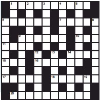 Pressreader Scottish Daily Mail 2020 06 20 Quick Crossword