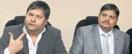 ?? Picture: MARTIN RHODES ?? PR PLAN: Ajay and Atul Gupta