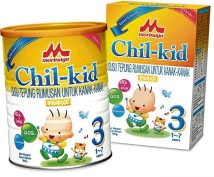 ??  ?? The new formula of Morinaga Chilkid has a mild vanilla taste and reduced sweetness. Below: The Morinaga i-Pot is a good travelling companion that keeps food warm or cold.