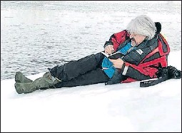 ?? M.M.. ?? Ponomarev sobre el gel antàrtic