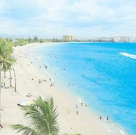 ??  ?? Balnerio de Carolina, la mejor playa urbana del mundo según USA Today.