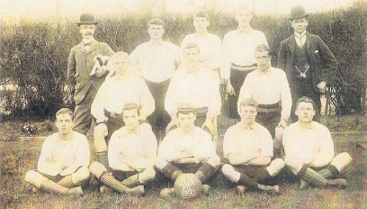 ??  ?? Is this the Boys' Brigade Football Club of 1900?