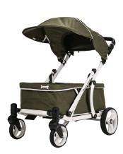 """??  ?? Der """"Crea Wagon""""sieht wie ein Luxus-Kinderwagen aus."""