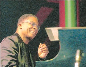 ?? KIER GILMOUR, THE OTTAWA CITIZEN ?? Pianist Herbie Hancock is still making vital, in-the-moment music. He plays the fest June 22.