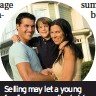 ??  ?? Selling may let a young family move up the ladder