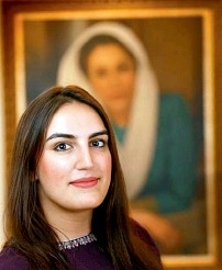 ??  ?? Bakhtawar Bhutto is celebratin­g her 26th birthday today.
