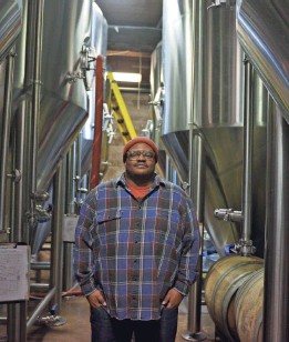"""?? JORDAN MCDONALD/USA TODAY ?? With craft beer, """"it's a word of mouth thing,"""" says Kevin Blodger, co-owner of Union Craft Brewing in Baltimore."""